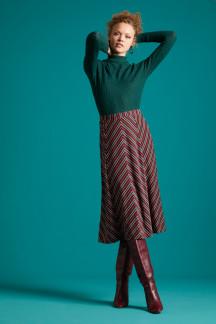 Juno Panel Skirt Nippon Stripe