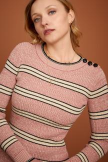 Jenny Button Top Mc Enroe