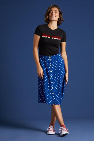 Juno Button Skirt Pablo