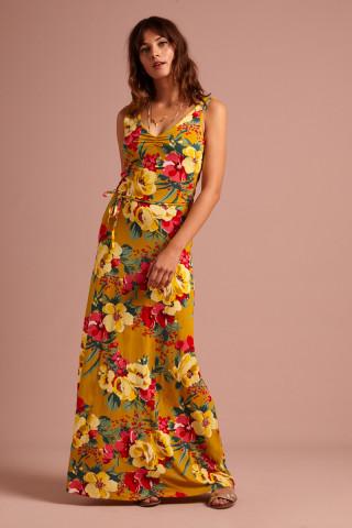 Anna Dress Maxi Lavish