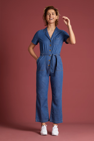 Gracie Jumpsuit Chambray