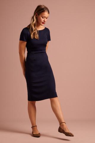 Alma Dress Milano Crepe