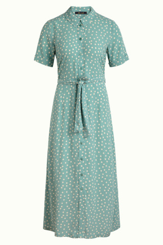 Rosie Midi Dress Domino Dot