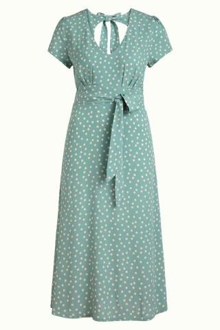 Shiloh Dress Domino Dot