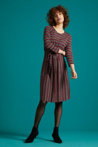 Hailey Dress Nippon Stripe