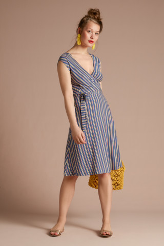 Mira Dress Gelati Stripe