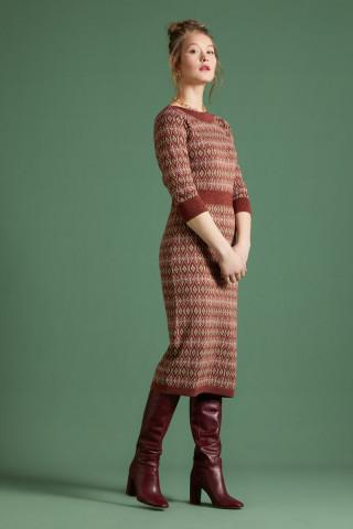 Audrey Dress Midi Taboo