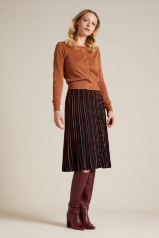 Pintuck Skirt Lapis