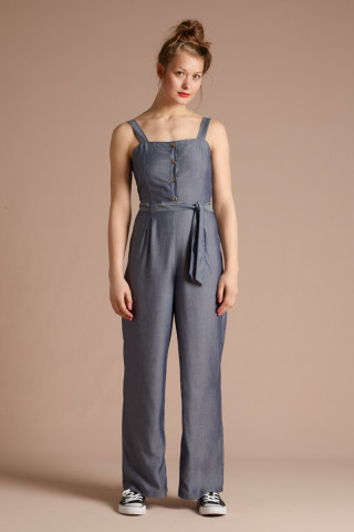 Ines Jumpsuit Tencel Chambray
