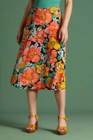 Juno Midi Skirt Sunbeam