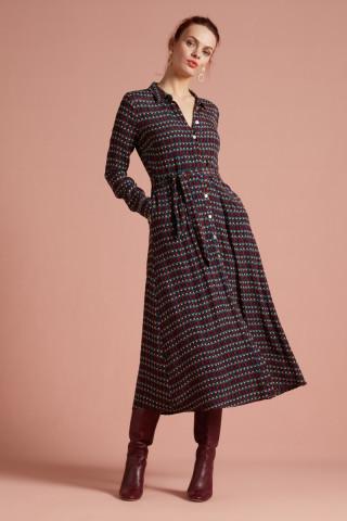 Rosie Midi Dress Pompidou