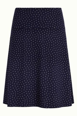 Border Skirt Little Dots