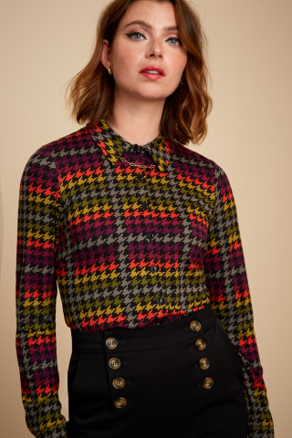 Blouse Houndstooth