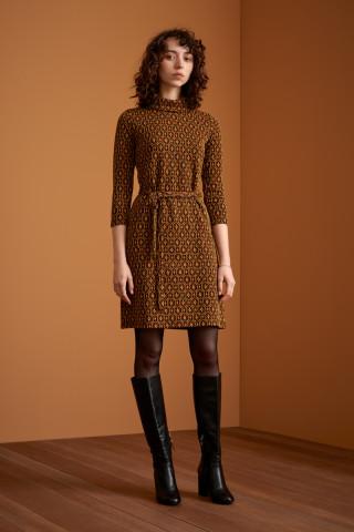 Dita Dress Honeycomb