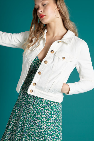 Janey Jacket Sweet Denim