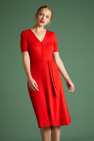 Erica Dress Rib Tencel