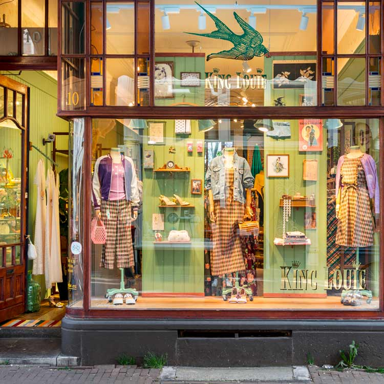 King Louie Flagship Store in Amsterdam
