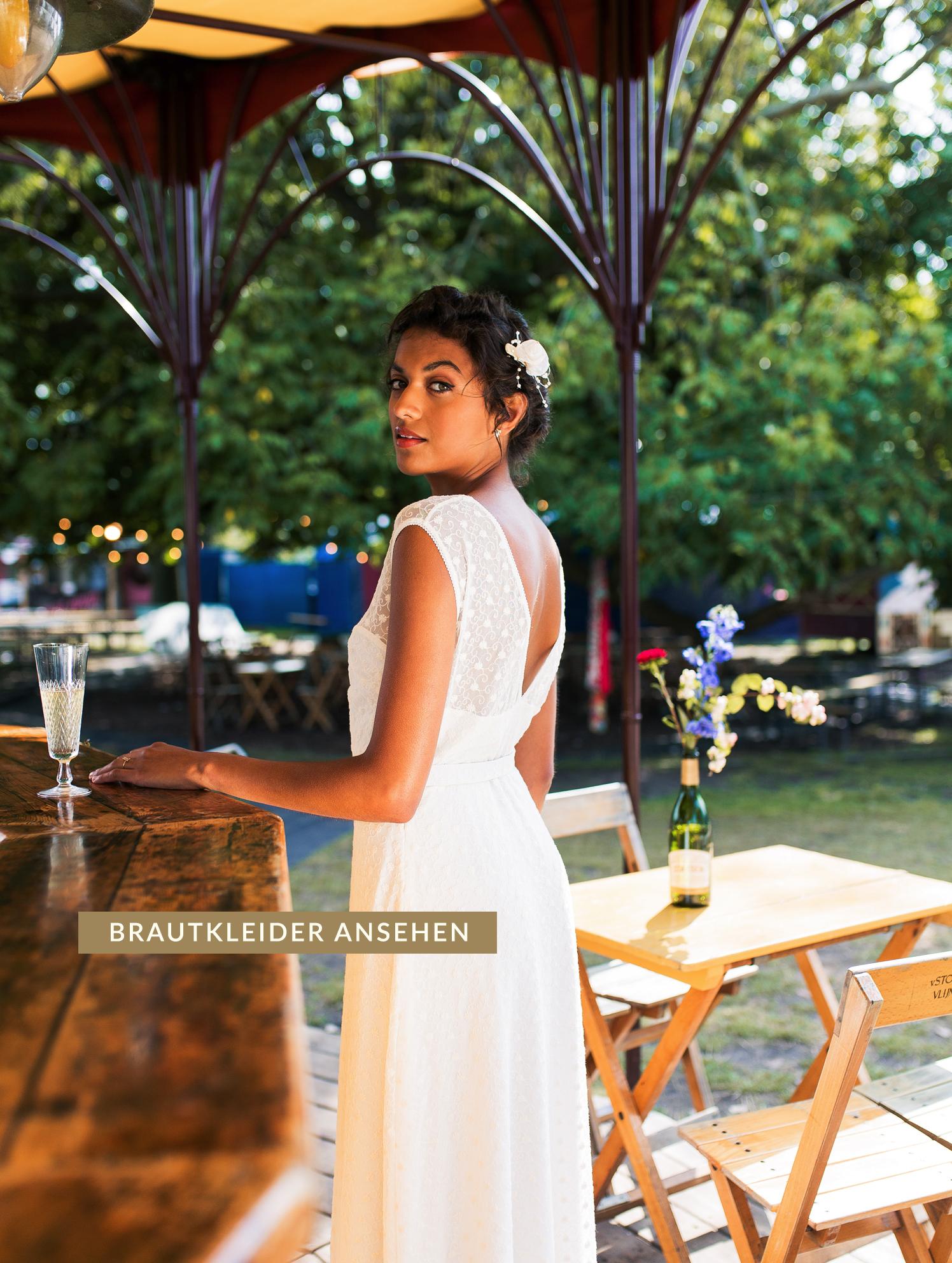 Vintage inspirierte Brautkleider