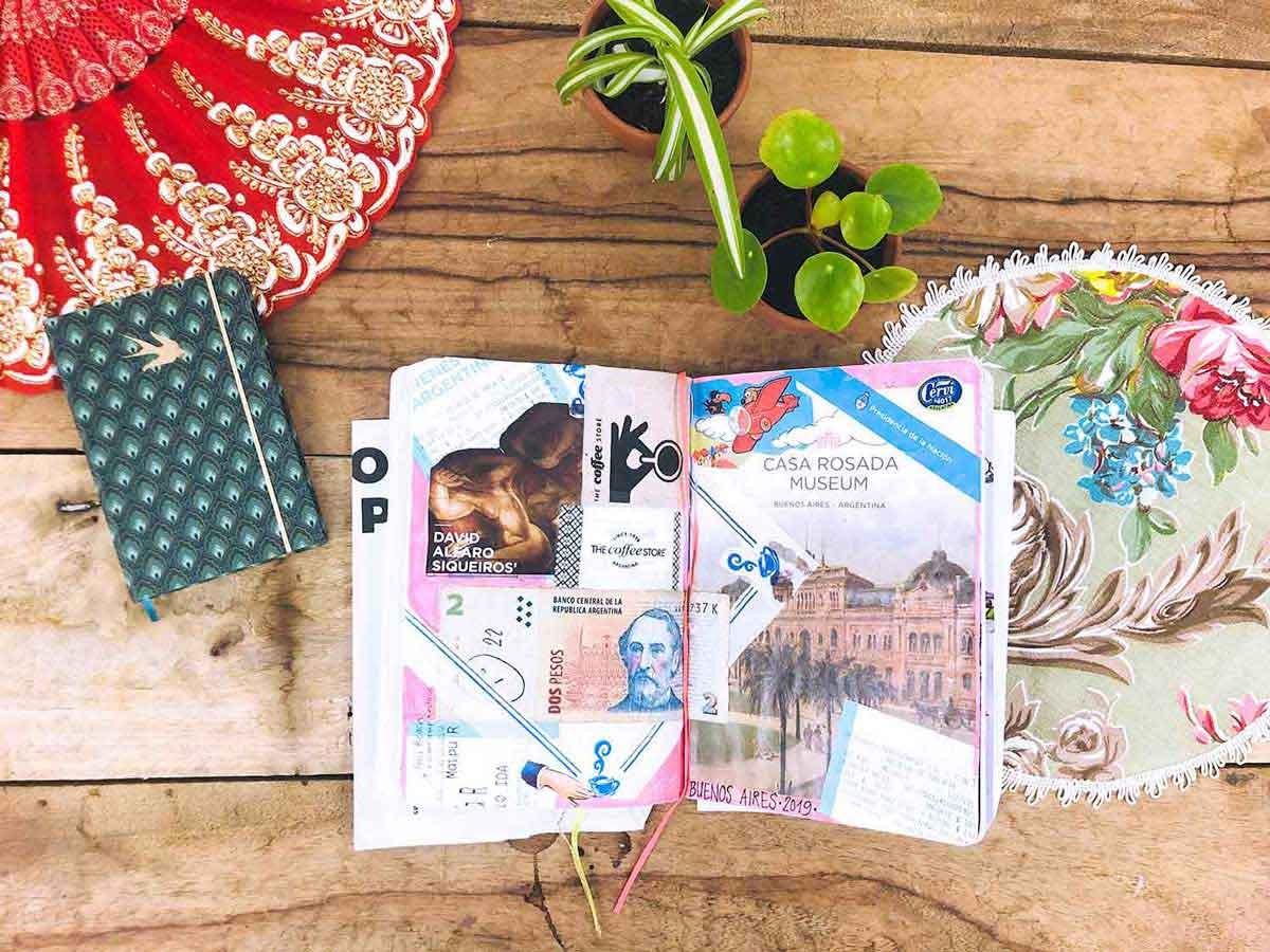 So schreiben Sie ein kreatives Reisetagebuch