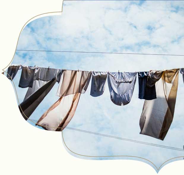 Kleidung nachhaltig waschen und Pflegen - Tipps von King Louie